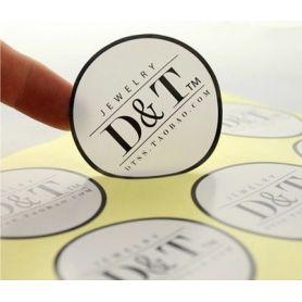 Etichette Adesive in PVC su misura personalizzate in HD a colori