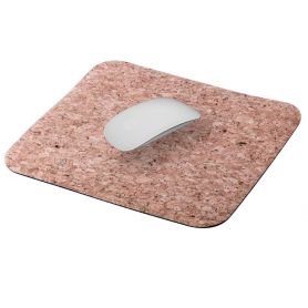 Pad mouse, cork 21,5 x 19,5 cm, customizable with your logo