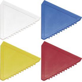Raschietto per ghiaccio, triangolare, personalizzabile con il tuo logo