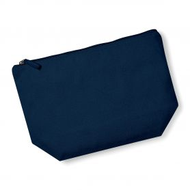 Necessaire Beauty Organic Cotton 19 x 18 x 9 cm, customizable with your logo