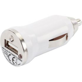 Car adapter USB output 5V/800 mAh. Customizable with your logo