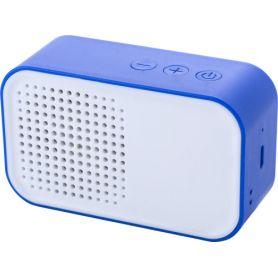 Speaker Wireless in ABS, potenza 3W con supporto smartphone. Personalizzabile con il tuo logo