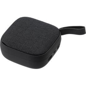 Speaker Wireless in ABS, 3W, con parte in tessuto. Personalizzabile con il tuo logo