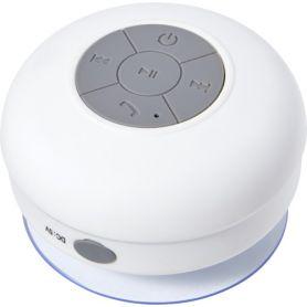 Speaker wireless da doccia, 2w, Water proof. Personalizzabile con il tuo logo