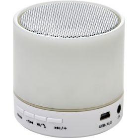Speaker Wireless in ABS, con illuminazione colorata. Personalizzabile con il tuo logo