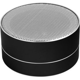 Wireless Speaker, Aluminum, 3W, with light. Customizable with your logo