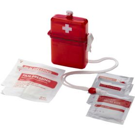First aid Kit with case and strap mod.C. Customizable with your logo