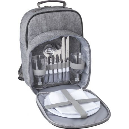 Backpack thermal picnic for 2 people, complete with accessories
