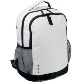 Backpack with compartment network side, shoulder strap, and adjustable shoulder straps, customised with your logo
