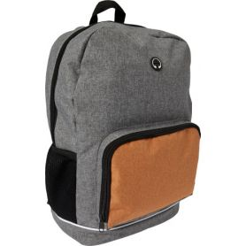 Backpack 49 x 28 x 15 cm two-tone polycanvas 300D, customizable with your logo