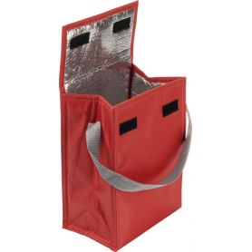 Thermal bag 36 x 17.5 x 12 cm with adjustable shoulder strap, customizable with your logo