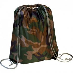 Backpack bag , camo / military, 34 x 44 cm. Customizable with your logo