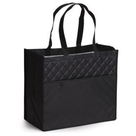 Borsa Shopping in TNT, Laminated, stitched, quilted, 38 x 32.5 x 20 cm