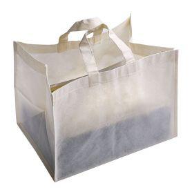 Borsa Shopping per Pasticceria 37 x 23 x 27 cm in TNT. Personalizzabile con il tuo logo