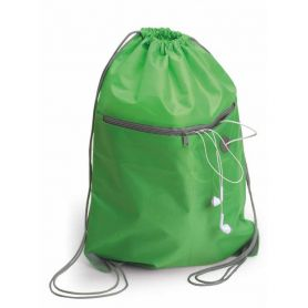 Backpack bag 34 x 44 cm with front pocket. Customizable with your logo