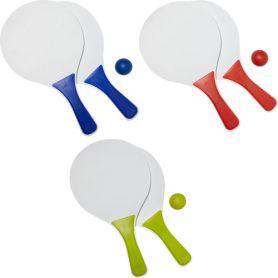 Game rackets, beach rackets, beach. Customizable with your logo