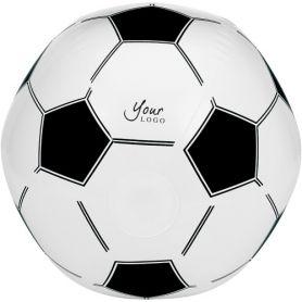 Ball beach inflatable Ø 42.5 cm) style football. Customizable with your logo