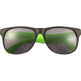 Occhiali da sole, modello con aste fluo, UV 400. Personalizzabili con il tuo logo!