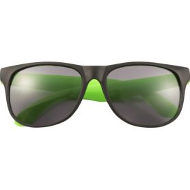Sunglasses, a model with auctions fluo, UV 400. Customizable with your logo!