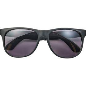 Occhiali da sole, modello standar, aste colorate, UV 400. Personalizzabili con il tuo logo!