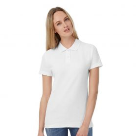 Polo Woman, ID.001, short sleeve, 100% Cotton, B&C