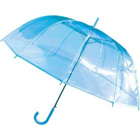 Transparent Automatic Umbrella : 87 x 82.5 cm. Customizable with your logo!