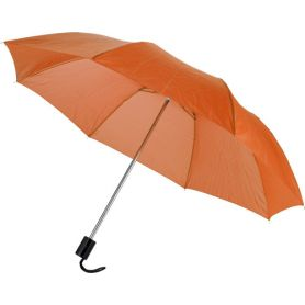 Manual umbrella is 93.5 x 55 cm, with lining. Customizable with your logo!