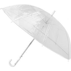 Transparent automatic umbrella, 92 x 73 cm. Customizable with your logo!