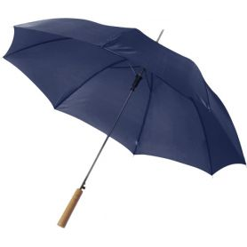 Automatic umbrella, with wooden handle, 102 x 83 cm. Customizable with your logo!