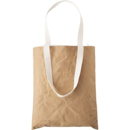 Shopping Bag 37 x 32 cm laminated paper bag with cotton handles