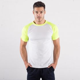 T-Shirt Run T Ultra Trail white, maniche corte color Sprintex