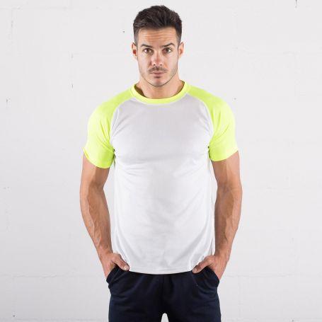 T-Shirt Run T Ultra Trail white, maniche corte color Sprintex
