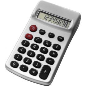 8-digit promotional calculator. Customizable with your logo