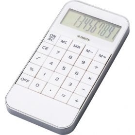 10-digit calculator, mobile phone design. Customizable with your logo