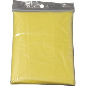 Poncho, impermeabile d'emergenza con bustina in polybag