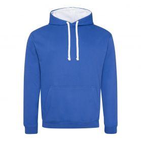 Varsity Hoodie sweatshirt 280 gr/m2 color 80/20 Unisex Just Hoods