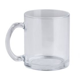 Transparent glass cup 320 ml