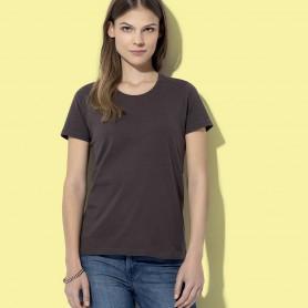 T-Shirt Classique-T Équipé de la Femme à Manches Courtes Stedman