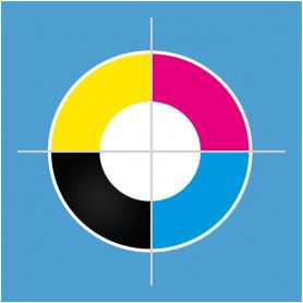 A colori Termoadesivo P&C M - 25 x 25 cm max
