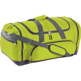 Sports/travel duffel bag, various compartments with shoulder strap. 54 x 37 x 34 cm