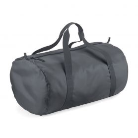 Tubular duffel bag with double handle, 210D polyester, light and waterproof. 50 x 30 x 26 cm