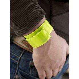Fascia da braccio pieghevole e adattabile, per uso promozionale. Per correre in sicurezza!