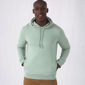 Felpa Organic Hooded 280 gr/m2 Body Fit 80/20 Unisex B&C