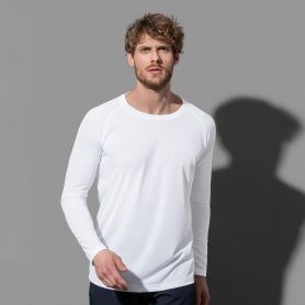 T-Shirt Sport Active 140 Long Sleeve, asciugatura rapida e tessuto traspirante. Stedman