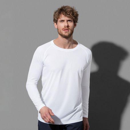 T-shirt sport active 140 manches longues, séchage rapide et tissu respirant. Stedman
