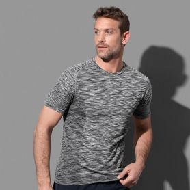 Raglan Sport Active Seamless T-Shirt. Unisex, Tubular, No Label. Stedman
