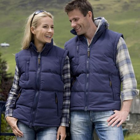 Windproof and water-resistant sleeveless vest, Unisex, Result