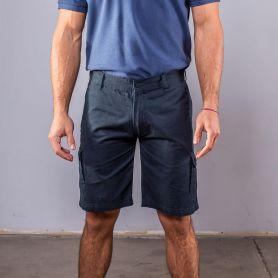 Pantaloncino Shorts 100% Cotone, con 6 tasche. Unisex, Black Spider