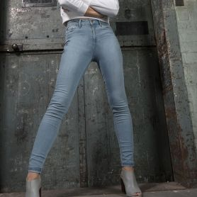 Pantalon en denim Lara Skinny Jeans. Femme, So Denim.
