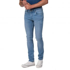 Pantalon en denim Max Slim Jeans homme. Ajustement régulier. Unisexe, So Denim.